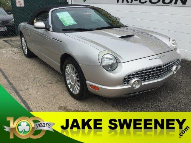 2005 ford thunderbird deluxe deluxe 2dr convertible for sale in cincinnati ohio classified. Black Bedroom Furniture Sets. Home Design Ideas