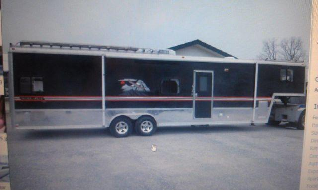 2005 Forest River 39 Toy Hauler Rv Goose Neck For Sale In