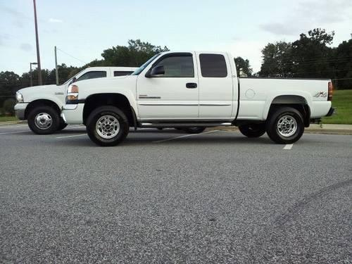 2005 gmc 2500hd duramax for sale in high point north carolina classified. Black Bedroom Furniture Sets. Home Design Ideas
