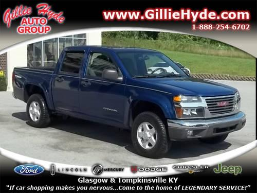 2005 gmc canyon crew cab 4x4 sle 4x4 off road for sale in dry fork kentucky classified. Black Bedroom Furniture Sets. Home Design Ideas