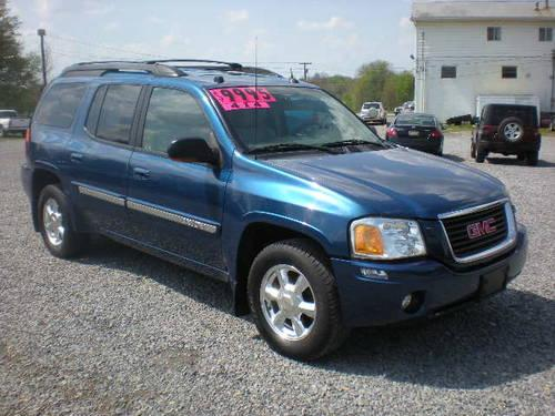2005 gmc envoy xl slt 4wd for sale in butler pennsylvania classified. Black Bedroom Furniture Sets. Home Design Ideas