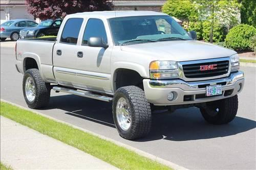 2005 gmc sierra 1500 lifted crew cab for sale in oregon city oregon classified. Black Bedroom Furniture Sets. Home Design Ideas