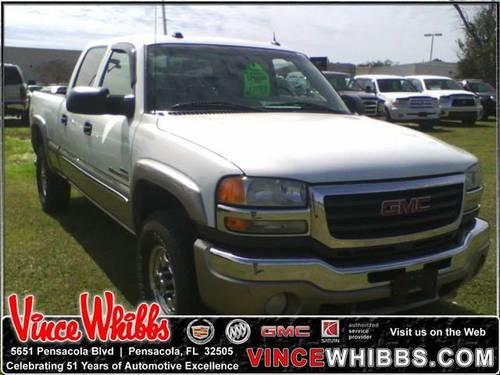 2005 GMC SIERRA 2500HD Crew Cab Pickup Crew Cab 153 WB 4WD SLT for Sale in Pensacola, Florida ...