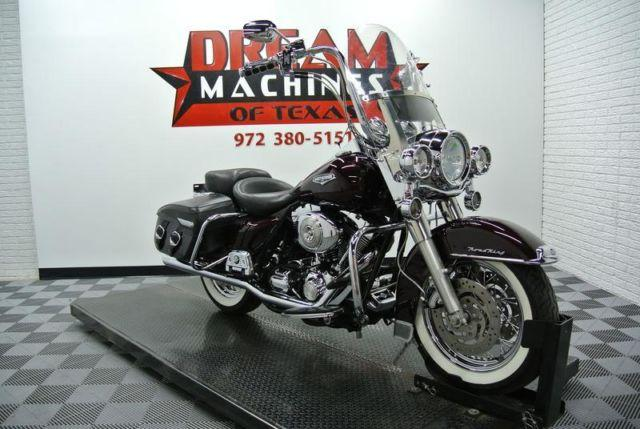 2005 Harley Davidson Flhrci Road King Classic Over In