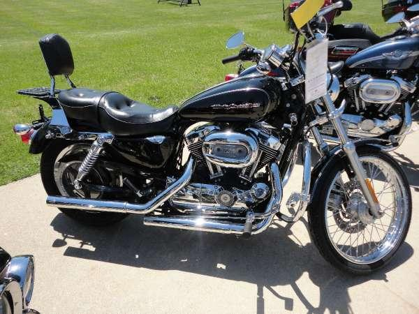 2005 harley davidson sportster xl 1200 custom for sale in tecumseh michigan classified. Black Bedroom Furniture Sets. Home Design Ideas