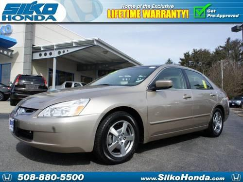 2005 Honda Accord 4 Dr Sedan Hybrid
