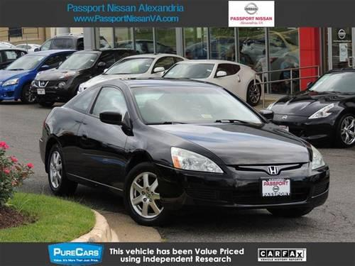 2005 honda accord cpe coupe ex l v6 at coupe for sale in. Black Bedroom Furniture Sets. Home Design Ideas