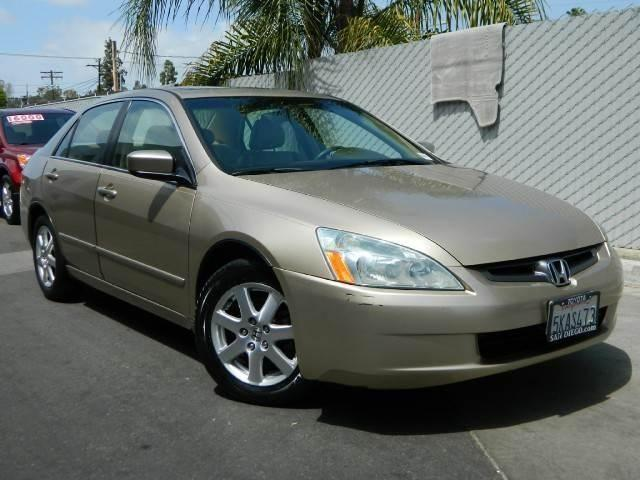 2005 Honda Accord Ex L Sedan 4d Ex L Sedan 4d For Sale In