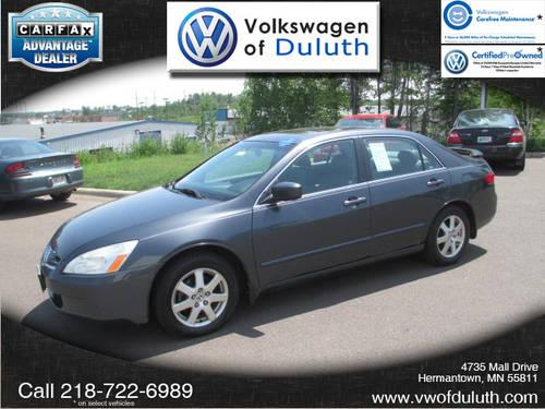 2005 honda accord sedan ex l v6 for sale in duluth. Black Bedroom Furniture Sets. Home Design Ideas
