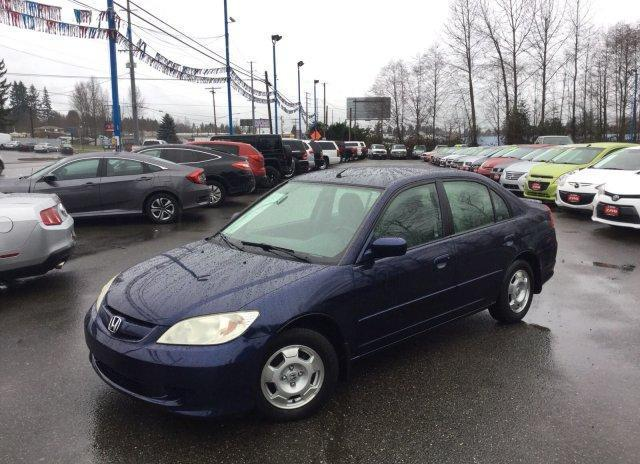 2005 Honda Civic Hybrid Cvt Pzev