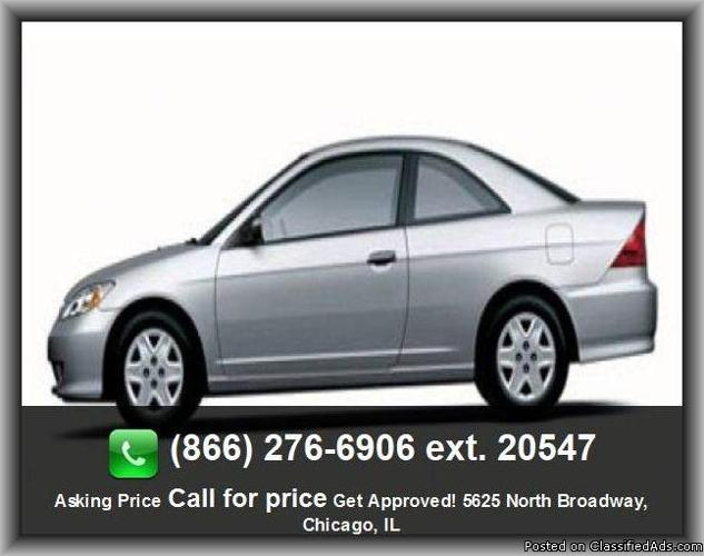 2005 honda civic value package coupe for sale in woodridge illinois classified. Black Bedroom Furniture Sets. Home Design Ideas