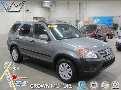 2005 Honda Cr V Suv Ex For Sale In Holland Michigan