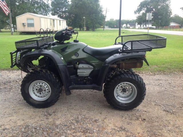 2005 honda foreman 500 4x4 4 wheeler practically brand new for sale in ames texas classified. Black Bedroom Furniture Sets. Home Design Ideas