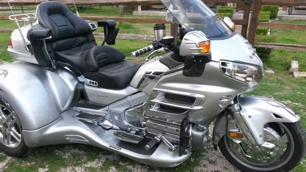 2005 Honda Gl18005 Goldwing Trike In San Antonio Tx For