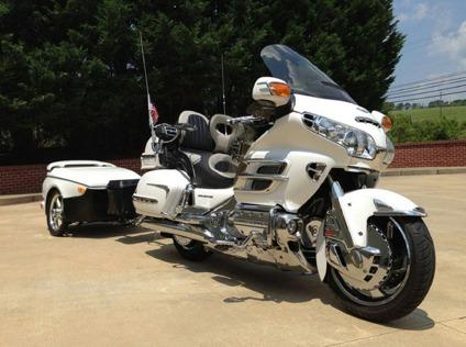 2005 Honda Gold Wing 1800cc With Trailer