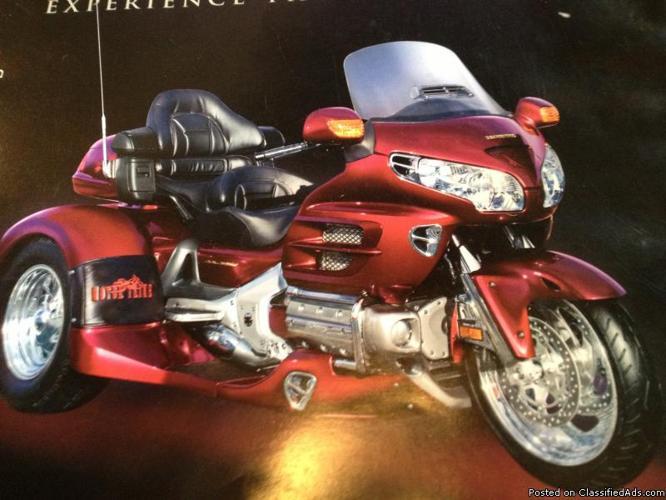 2005 Honda Goldwing Trike-Like New-3,055 miles-One owner ...