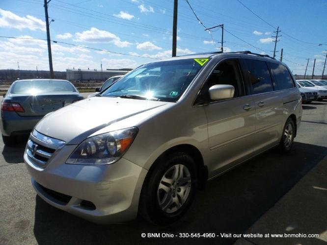 2005 honda odyssey ex l at with res for sale in girard ohio classified. Black Bedroom Furniture Sets. Home Design Ideas