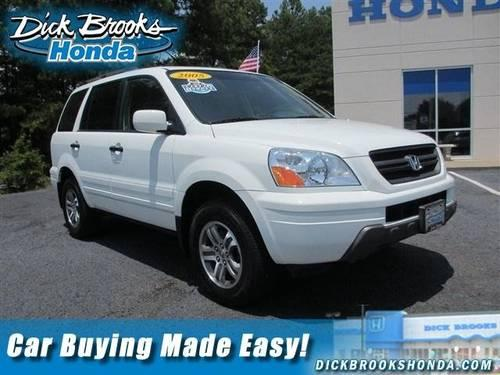 2005 honda pilot sport utility ex l with res for sale in greer south carolina classified. Black Bedroom Furniture Sets. Home Design Ideas