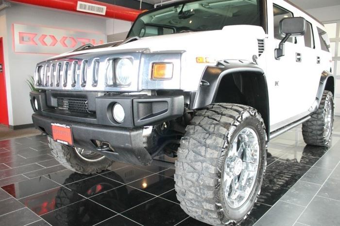 2005 HUMMER H2 Lifted!