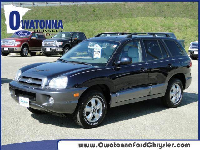 2005 hyundai santa fe gls for sale in owatonna minnesota classified. Black Bedroom Furniture Sets. Home Design Ideas