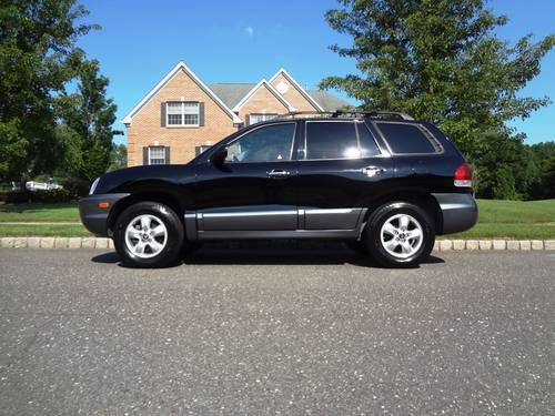 2005 hyundai santa fe lx 4x4 3 5l v6 for sale in dover township new jersey classified. Black Bedroom Furniture Sets. Home Design Ideas