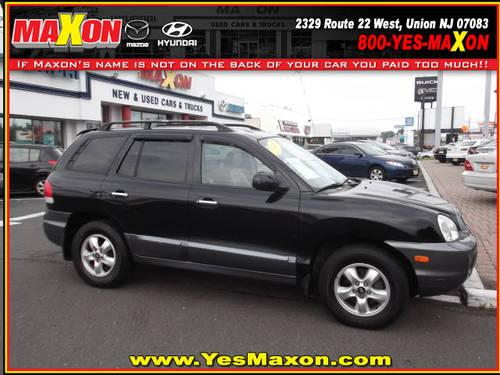 2005 hyundai santa fe suv 4x4 lx for sale in chestnut new jersey classified. Black Bedroom Furniture Sets. Home Design Ideas