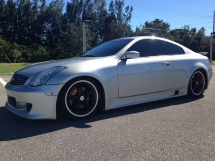 2005 infiniti g35 base rwd 2dr coupe for sale in miami florida classified. Black Bedroom Furniture Sets. Home Design Ideas