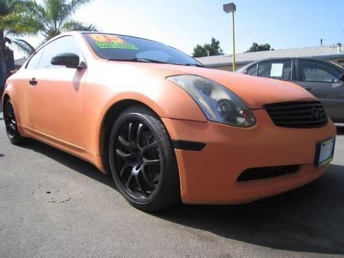 2005 infiniti g35 coupe for sale in south gate california classified. Black Bedroom Furniture Sets. Home Design Ideas