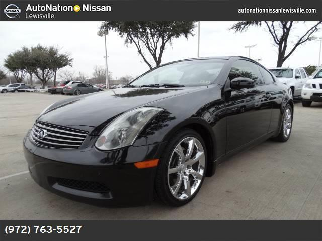 2005 infiniti g35 coupe for sale in lewisville texas classified. Black Bedroom Furniture Sets. Home Design Ideas
