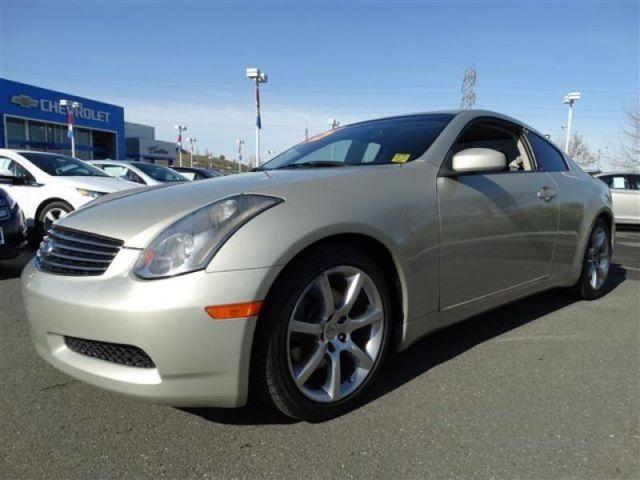2005 infiniti g35 coupe for sale in vallejo california classified. Black Bedroom Furniture Sets. Home Design Ideas