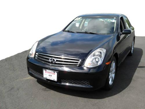 2005 infiniti g35x sedan for sale in middlebury. Black Bedroom Furniture Sets. Home Design Ideas