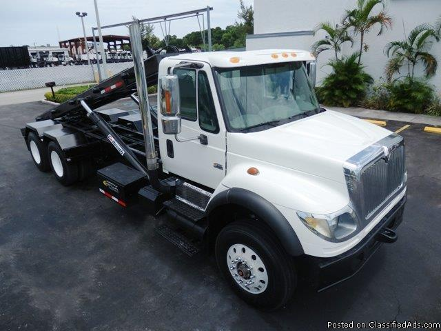 2005 International 7600 Roll Off Truck Stock 38483