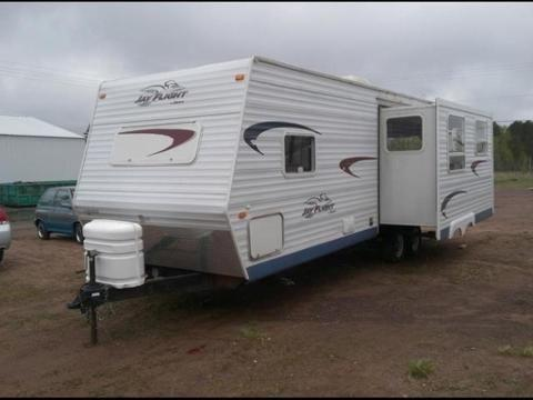 2005 jayco jay flight not specified for sale in wascott wisconsin classified. Black Bedroom Furniture Sets. Home Design Ideas