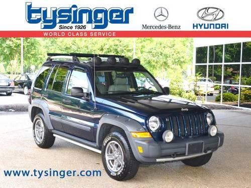2005 jeep liberty 4d sport utility renegade for sale in Tysinger motor company