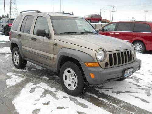 2005 jeep liberty suv sport for sale in spokane. Black Bedroom Furniture Sets. Home Design Ideas