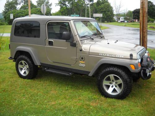 2005 jeep unlimited sahara rubicom rare ltd edition 405 of 1000 for sale in youngsville. Black Bedroom Furniture Sets. Home Design Ideas