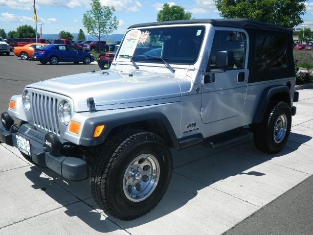 2005 jeep wrangler 2dr 4x4 lwb unlimited unlimited for sale in medford oregon classified. Black Bedroom Furniture Sets. Home Design Ideas