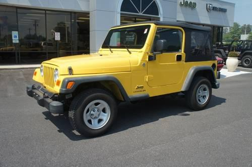 2005 jeep wrangler convertible se for sale in carrollton maryland classified. Black Bedroom Furniture Sets. Home Design Ideas