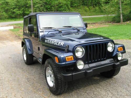2005 jeep wrangler rocky mountain edition for sale in mount airy north carolina classified. Black Bedroom Furniture Sets. Home Design Ideas