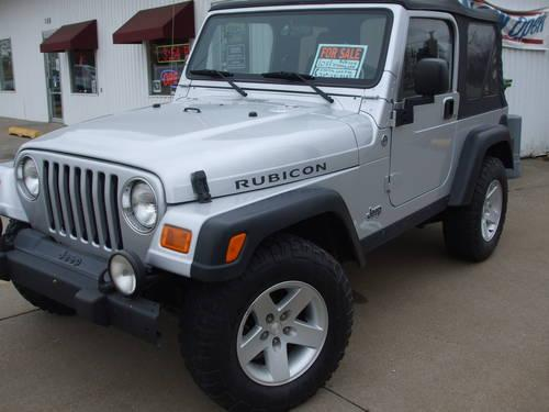 2005 jeep wrangler rubicon silver for sale in aledo illinois classified. Black Bedroom Furniture Sets. Home Design Ideas