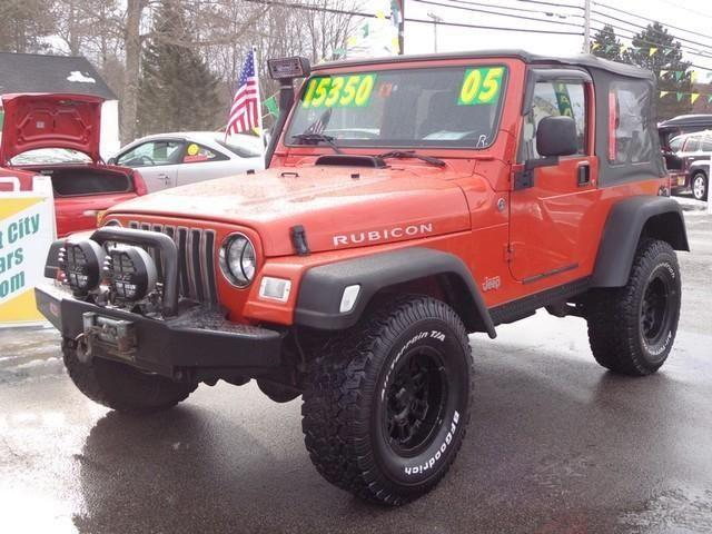 2005 jeep wrangler rubicon sport w 4wd for sale in rochester new hampshire classified. Black Bedroom Furniture Sets. Home Design Ideas