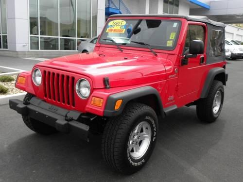 2005 jeep wrangler suv 2dr sport for sale in carson city nevada. Cars Review. Best American Auto & Cars Review