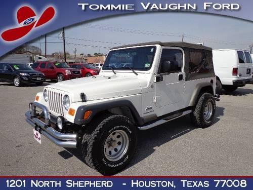 2005 jeep wrangler suv unlimited lwb for sale in houston. Black Bedroom Furniture Sets. Home Design Ideas