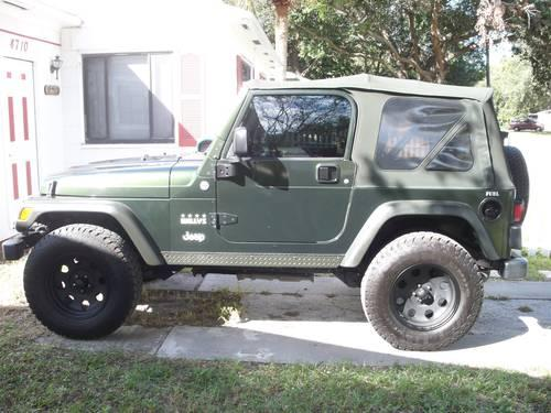 2005 jeep wrangler willys edition for sale in saint petersburg florida classified. Black Bedroom Furniture Sets. Home Design Ideas