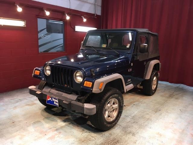 2005 jeep wrangler x 2dr x 4wd suv for sale in virginia. Black Bedroom Furniture Sets. Home Design Ideas