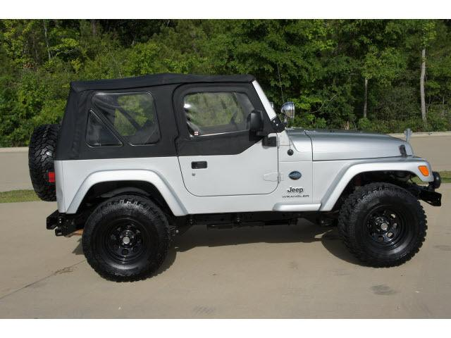 2005 jeep wrangler x for sale in huntsville texas classified. Black Bedroom Furniture Sets. Home Design Ideas