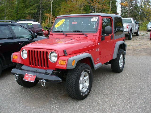 2005 jeep wrangler x for sale in marquette michigan classified. Black Bedroom Furniture Sets. Home Design Ideas