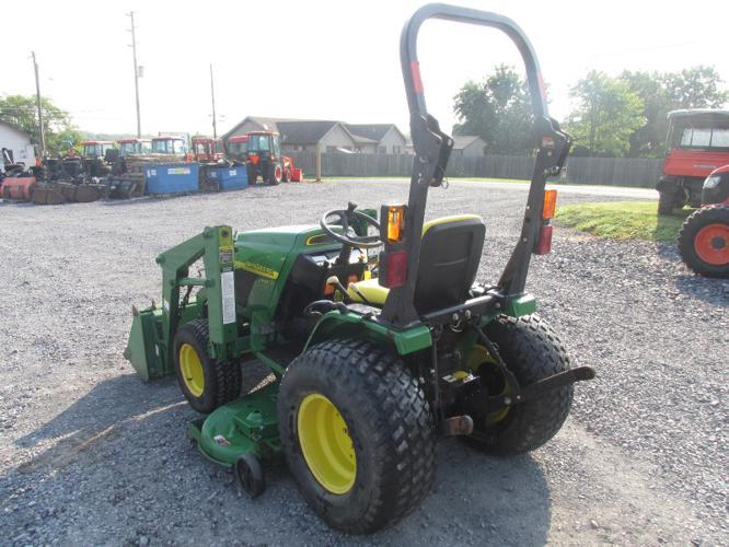 2005 JOHN DEERE 4010 4X4 Tractor- $2200