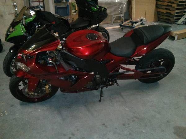 2005 Kawasaki Ninja Zx10r For Sale In Lakeland Florida Classified