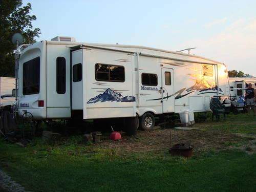 2005 Keystone Montana 3500rl Fifth Wheel 4 Slide Outs For